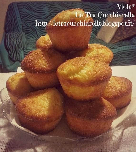 Muffin al limone - Muffins with lemon