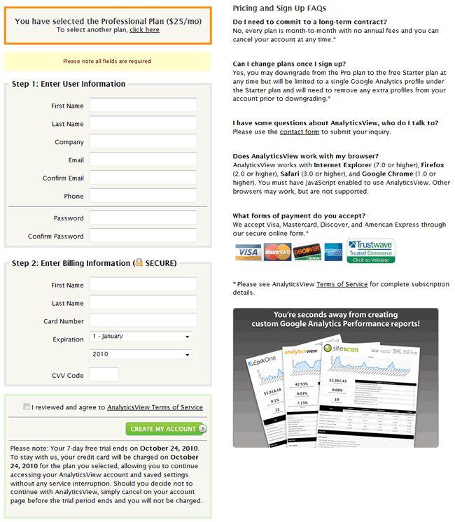 Best Registration Forms Images On   Design Elements