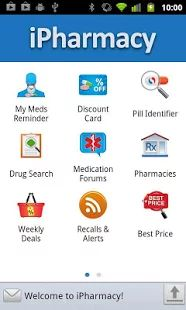 iPharmacy Pill ID & Drug Info- Find the lowest price to fill your prescription, identify your pill by color, shape and imprint, understand & manage your medication treatment, lower your health bill, all in ONE.