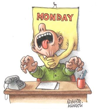 Ever wonder why you hate Mondays?