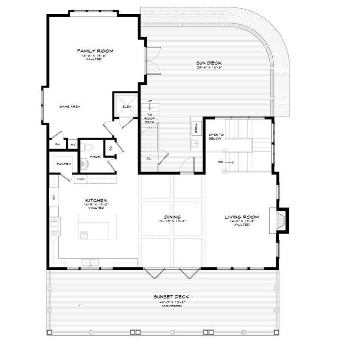 explore the floor plans - Coastal Living Floor Plans