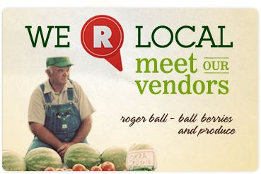 Raleigh Farmers Market ~ We R Local: Meet Our Vendors: Roger Ball - Ball Berries And Produce