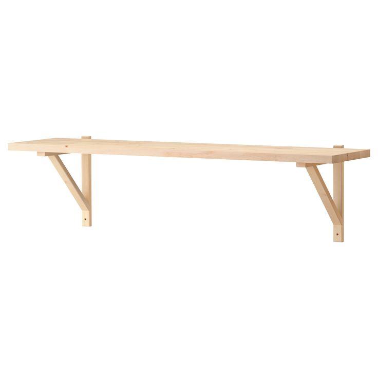 EKBY JÄRPEN/EKBY VALTER Wall shelf - birch veneer - IKEA