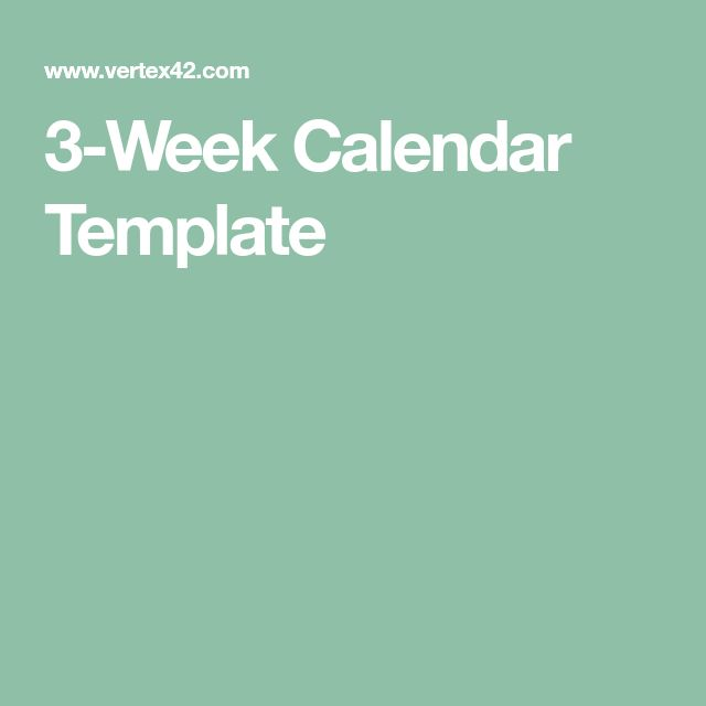 The 25+ best Weekly calendar template ideas on Pinterest Print a - free printable weekly calendar