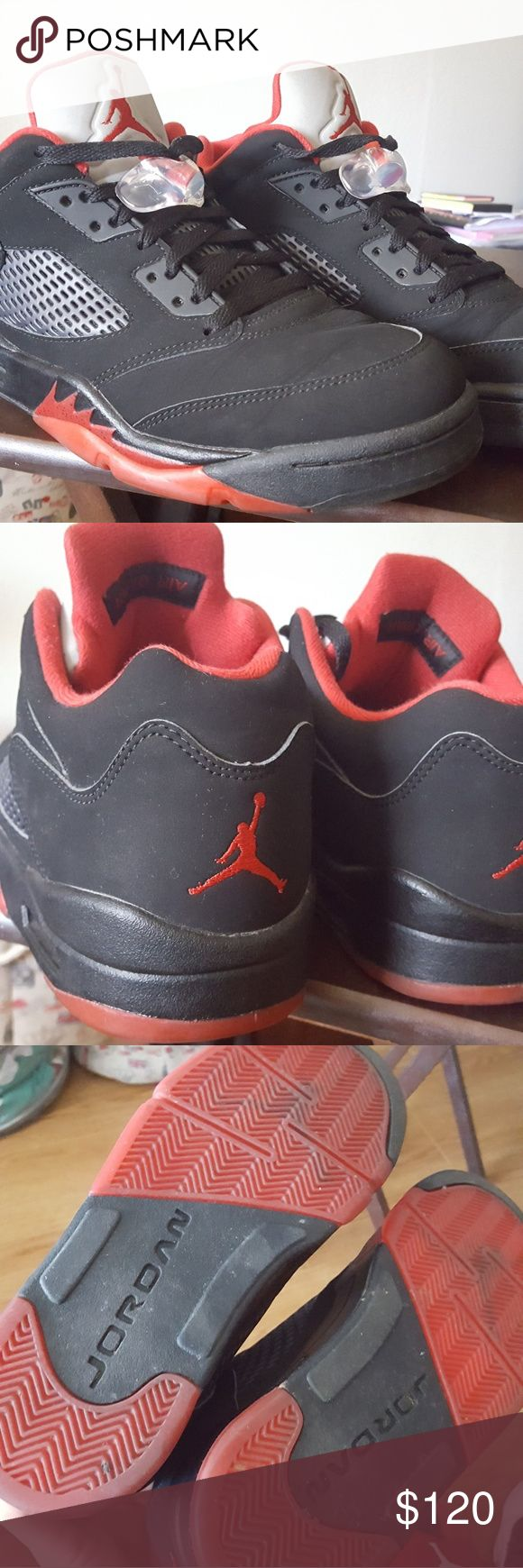 Jordan 5 low alternate 90 Very slightly used. Comes with replacement box Jordan Shoes