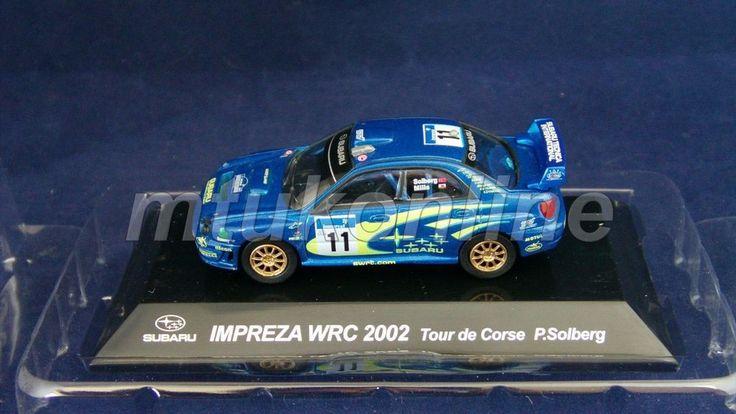 CM S RALLY CAR COLLECTION | SS4 | SUBARU IMPREZA WRC 2002 TOUR DE CORSE | 1/64