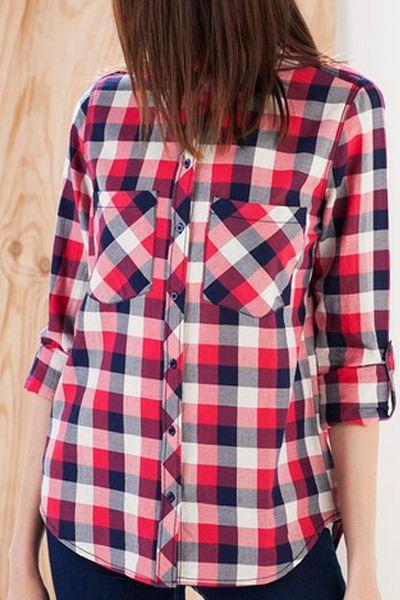 <p>Les camises de quadres serveixen tant per l'hivern com per l'estiu.</p>