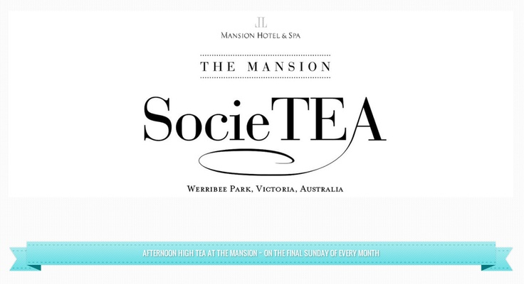 SocieTEA - High Tea at The Mansion Hotel & Spa #hightea #afternoon #sunday #mansion #teacups #cocktails #balcony #blastfromthepast