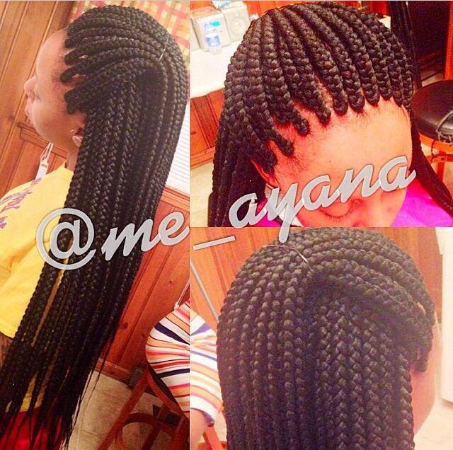 Beautifully done braids
