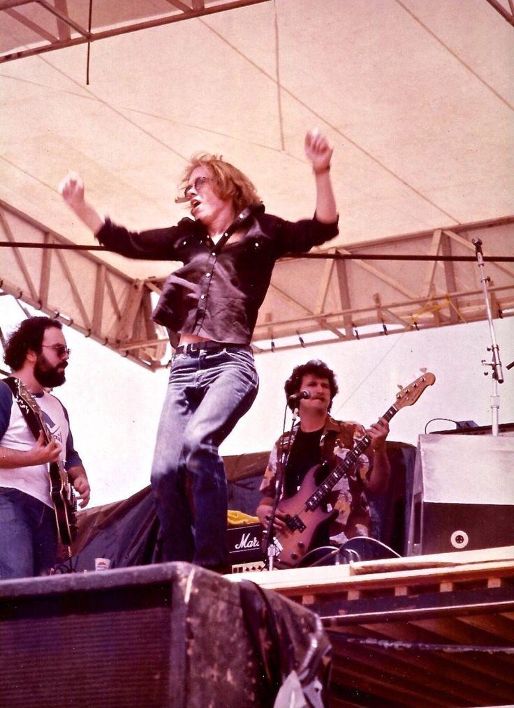 Warren Zevon opening for the Grateful Dead, Boulder CO 1980