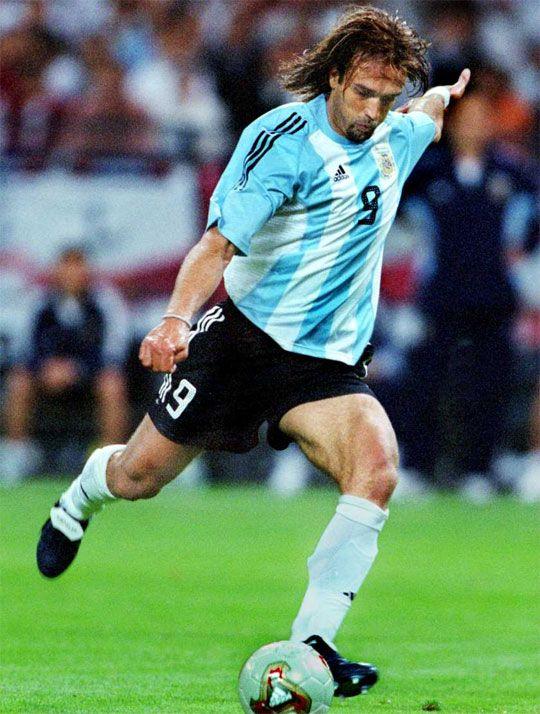 Gabriel Batistuta - Partidos: 77 Goles: 54.