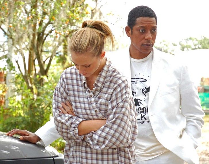 A.J. Cook as Miranda Bliss and Orlando Jones as Terry in Misconceptions.