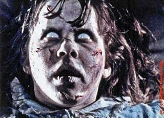 """""""The Exorcist"""" Scariest movie I have ever seen. CCouldnt even watch it until I was in my 20s. Still creeps me out a little."""