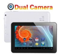 AFUNTA offer Afunta® 9 Inch Google Android 4.0 512MB/8GB Tablet PC Dual Camera MID Capacitive Multiple Touch Screen G-sensor Allwinner A13, 3d Games Skype Video Calling, Netflix Movies Flash 11.1 (Dual Camera, White). This awesome product currently limited units, you can buy it now for $159.99 $67.90, You save $92.09 New