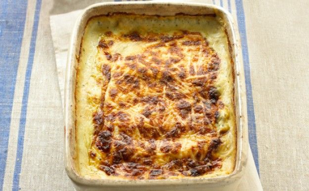 Mushroom and spinach cannelloni ~ vegetarian main dish | from the book 'Cook Up a Feast' by Mary Berry and Lucy Young | via Good to Know