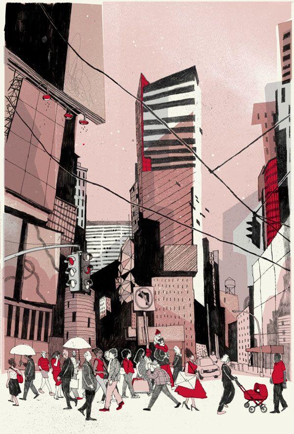 Josh Cochran, ilustrador del mundo
