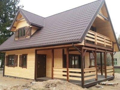 DOM DREWNIANY  3000`` -dom letniskowy cena 77000zl