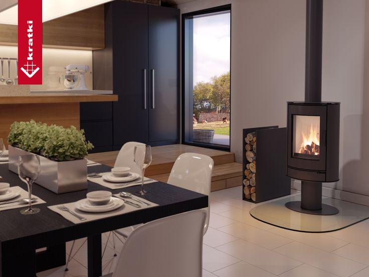Stove KOZA AB #kratkipl #kratki #stove #interior #livingroom