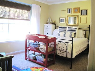 And Then There Was Home Master Bedroom Nursery Combo Jacoby Joshua 3 Pinterest Pas Room Baby