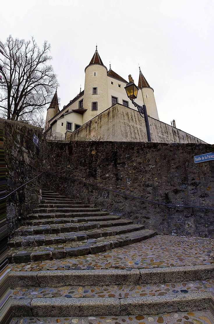 Le château de Nyon, Vaud, Switzerland