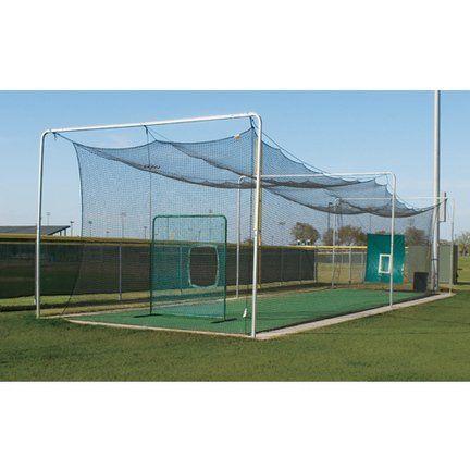 baseball batting forward inside the indoor batting cages pin 2 heart 1