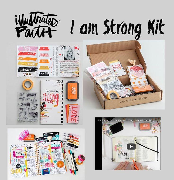 #IllustratedFatih I am Strong Bible Journaling Kit