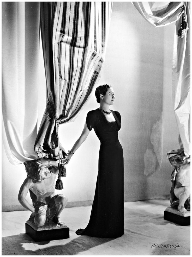 Wallis Simpson Duchess of Windsor | ... Rubin 1906 Kiev -2006 Paris) Wallis Simpson The Duchess of Windsor