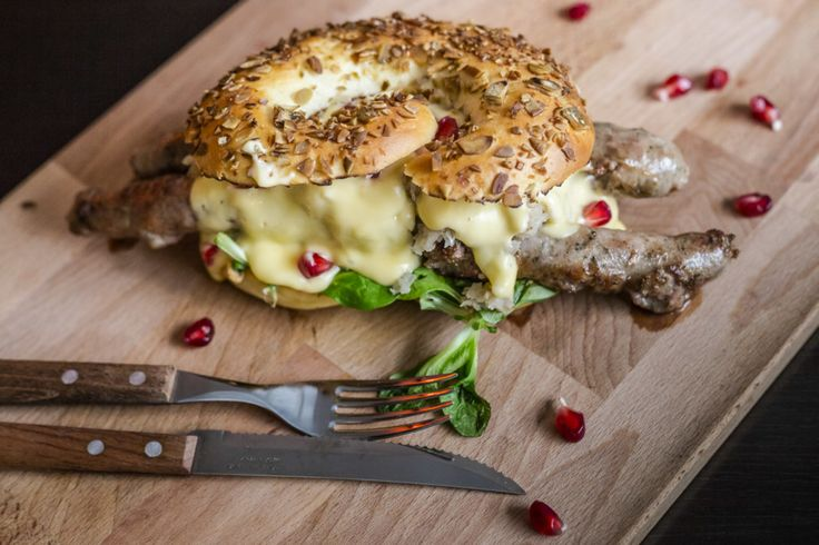 Panificio il Basilico opened a new addition to its extensive family of bakeries, now offering unconventional burgers on pretzels or doughnuts instead of buns.