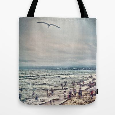 my Society6 now has tote bags! The Flight Tote Bag by Sarah Zanon - $22.00