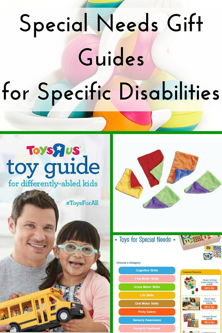 If you are shopping for an important child in your life, check out this Special Needs Gift Guides for Specific Disabilities. These websites have put together lists with great guides leading you in the right direction depending on your child's diagnosis and specific needs. Perfect for parents, grandparents, and friends shopping for Christmas, birthdays, and other special occassions!