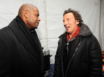 Forest Whitaker and Bruce Springsteen