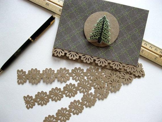 kraft paper lace