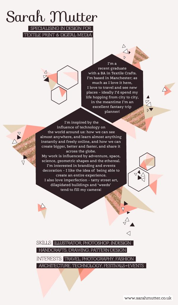 cv webdesign template