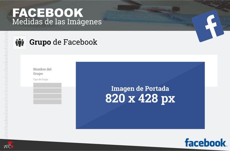 Tamaño de la portada de grupo de Facebook .  Medidas de las redes Sociales actualizadas