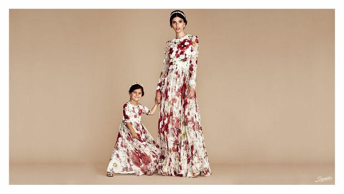 Яблоко от яблоньки: Гармоничные наряды для мамы и дочки на новогодние праздники и не только – Форум об Италии