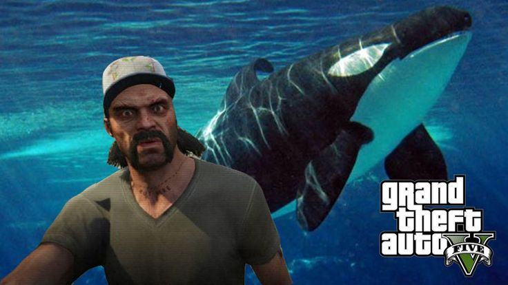 GTA 5 - Hunting Every Animal In GTA 5 - Dolphin, Pugs, Whales, & More! (GTA V PS4 Gameplay)