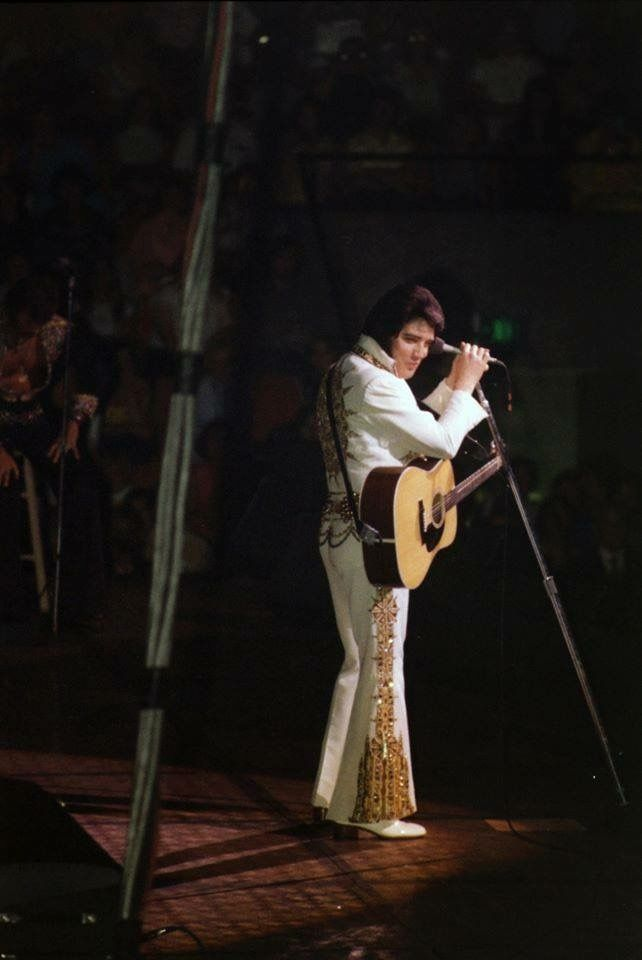 June 26, 1977 : Market Square Arena, Indianapolis, IN. Elvis' Final Performance