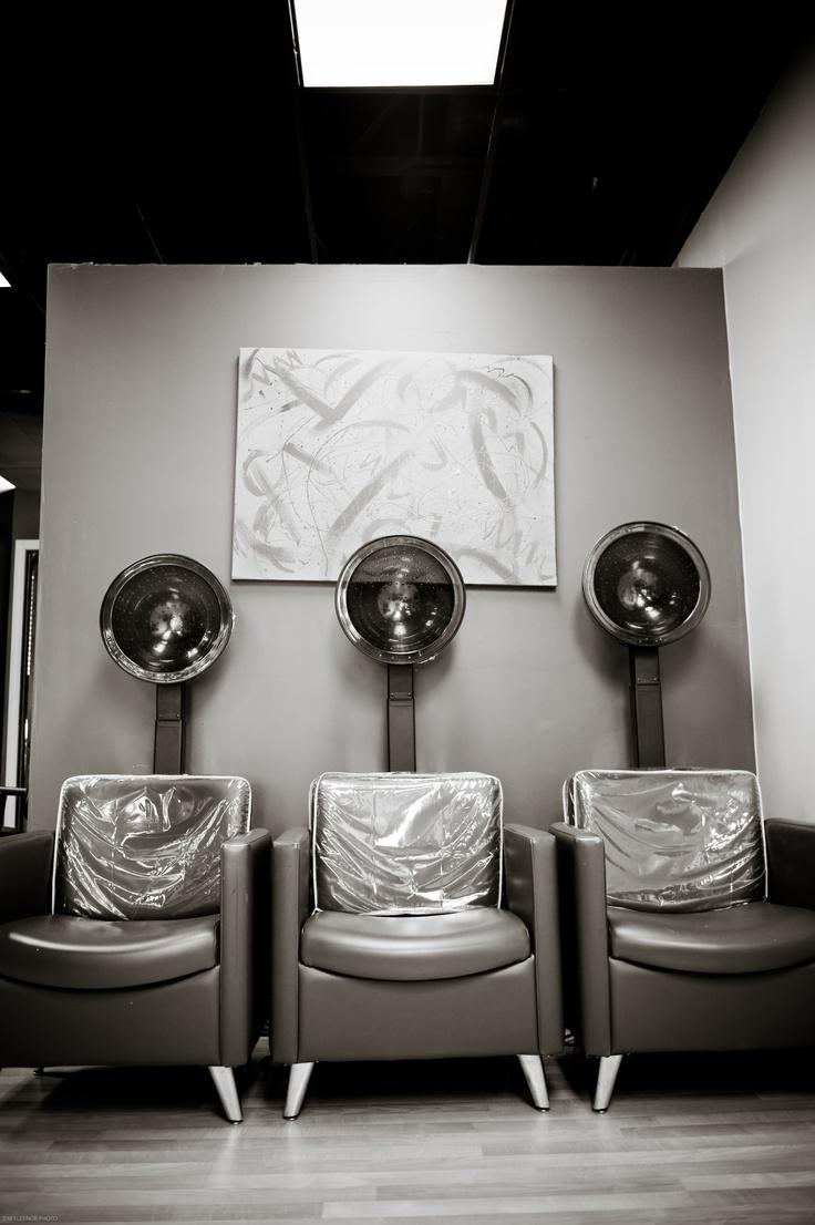 Dryer Chairs Salons, Hair salon, Chair