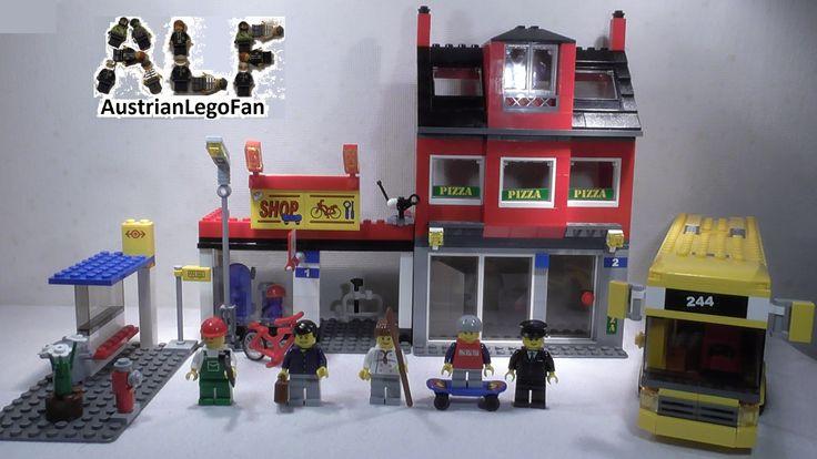 Lego City 7641 / 60031 City Corner / Stadtviertel mit Bus - Lego Speed B...