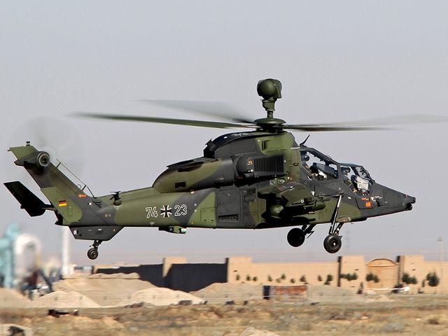 German Army Eurocopter Tigre in Afghanistan.