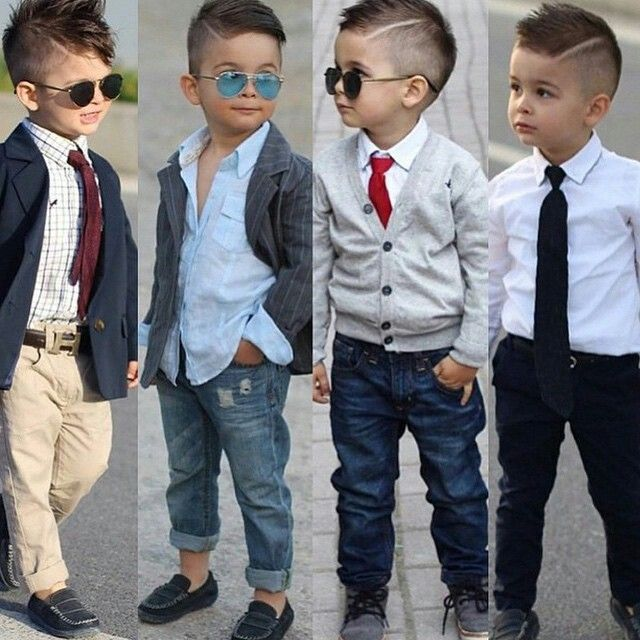 outfit for the little boys.