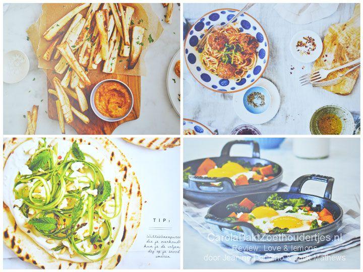 """love and lemons """"gehaktballetjes"""" van aubergine en paddestoelen Gemaakt in mei 2016 met zelfgemaakte marinara saus Veel werk wat droog naar wel lekker"""