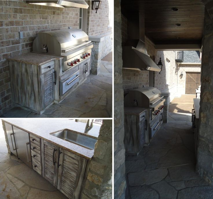 Our All Time Favorite Rustic Spaces: Best 25+ Rustic Outdoor Kitchens Ideas On Pinterest