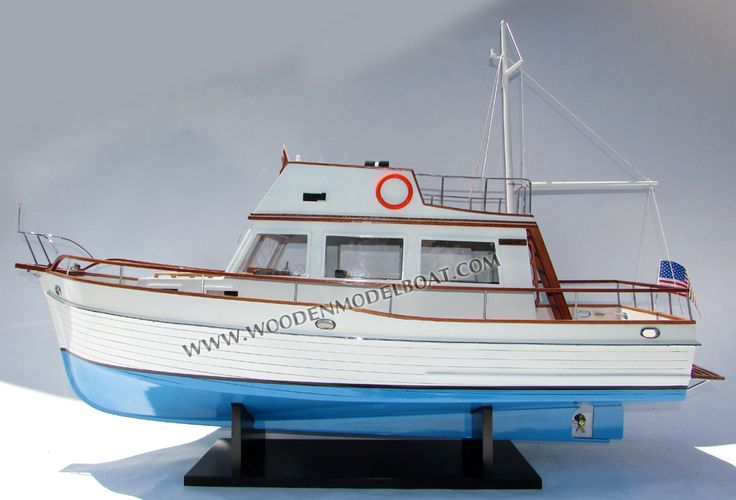 Grand Bank 32 trawler model