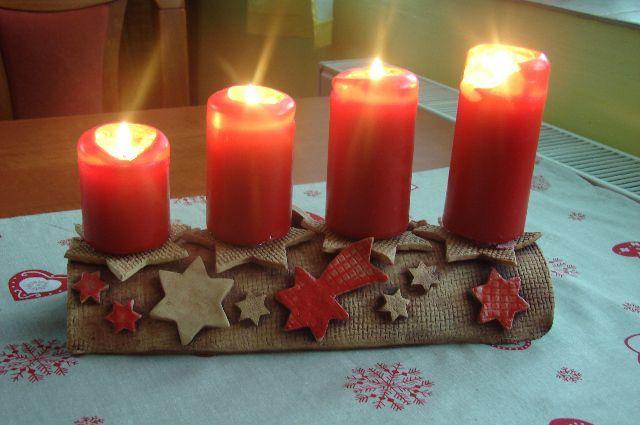Vzpomínka na ADVENT náš letošní svícen