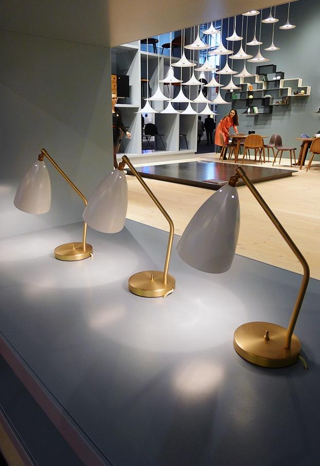 grossman lighting. Milano Euroluce 2013: Grasshopper Table Lamps By Greta Magnusson Grossman Manufactured Gubi Lighting