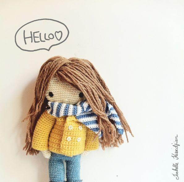 Ma poupée au crochet.