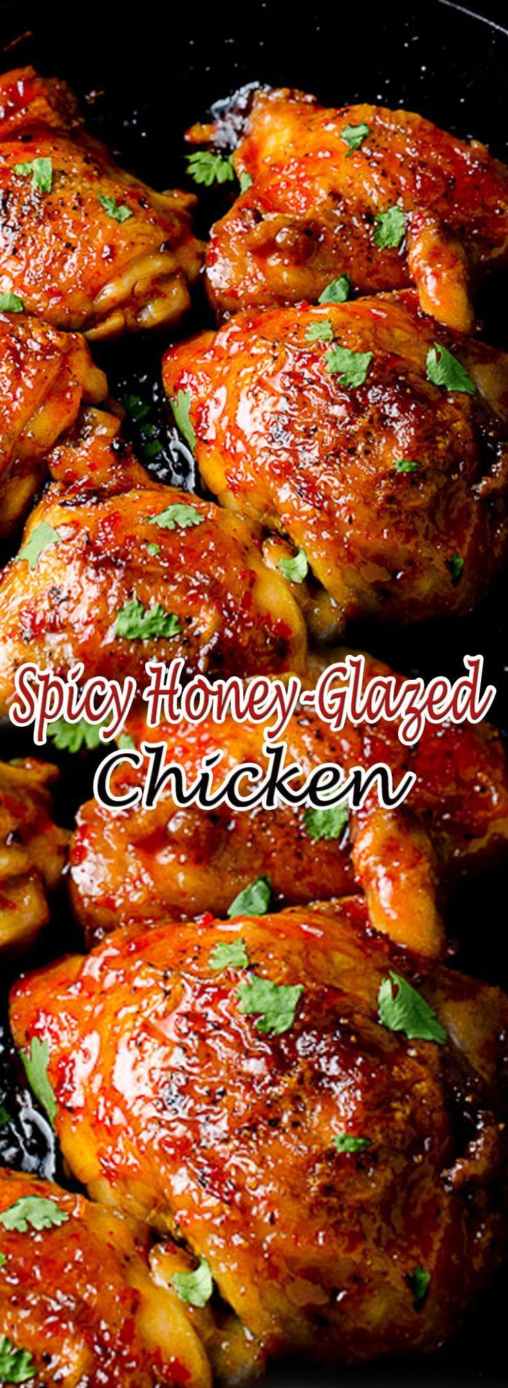 3299 best chinese food recipes images on pinterest asian food easy spicy honey glazed chicken recipe recipes food foodgasm forumfinder Images