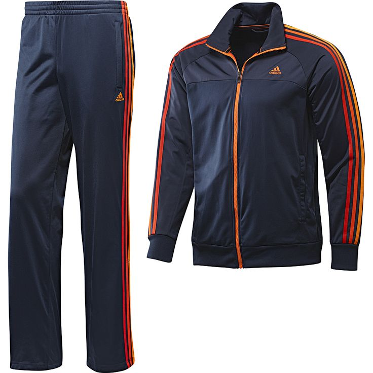 Adidas Essentials 3Stripes Polyester Track Suit Wish