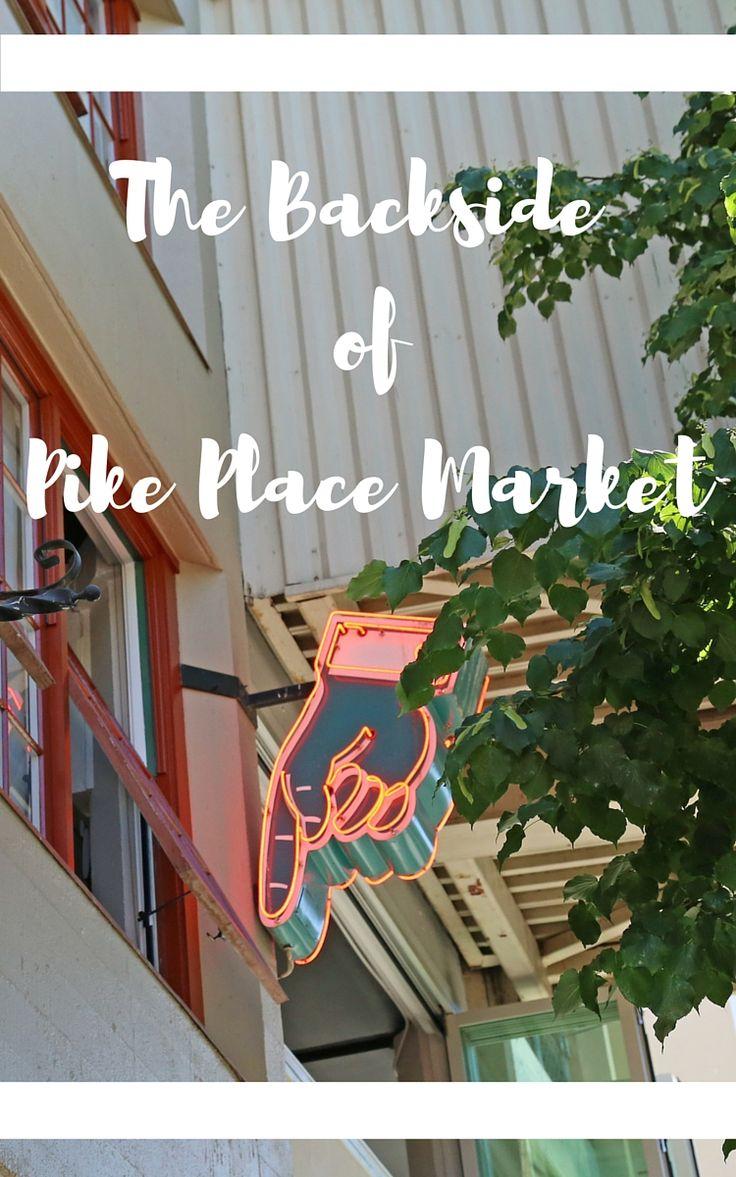 Pike Place Market has a hidden side
